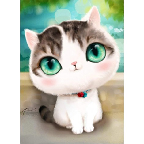 5d Cat Diamond Painting Kit Premium-14