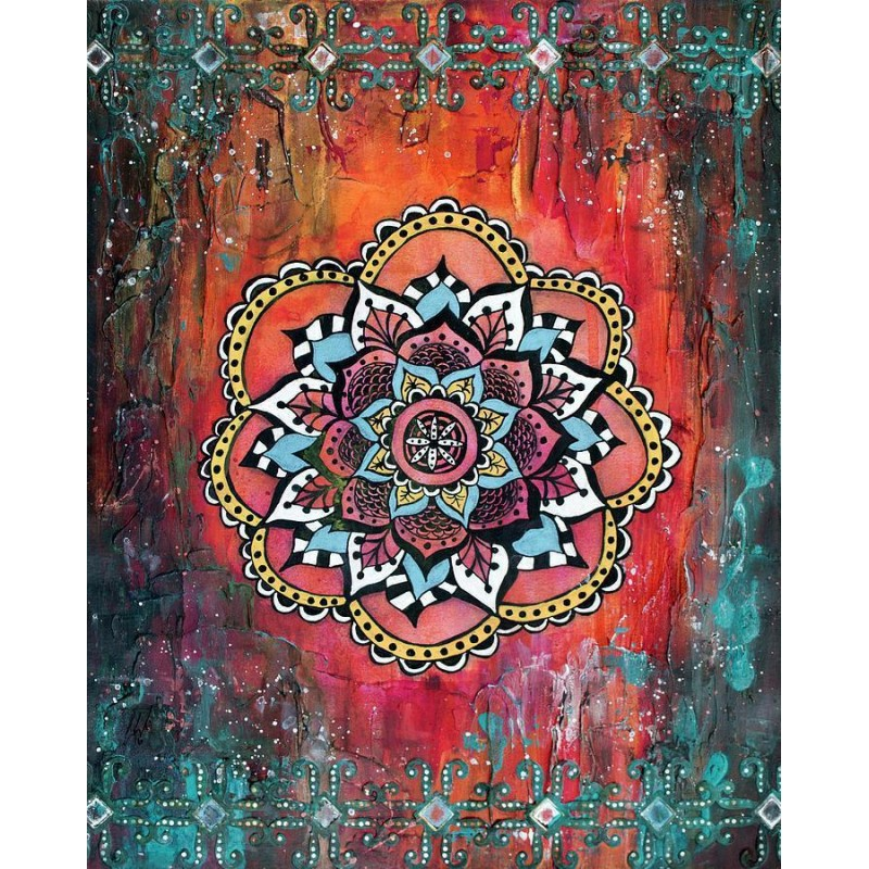 Mandala Diamond Painting ...